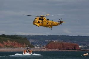 Air Sea Rescue demonstration at The Dawlish Air Show