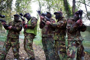 Paintball games at Ashcombe Adventure Centre