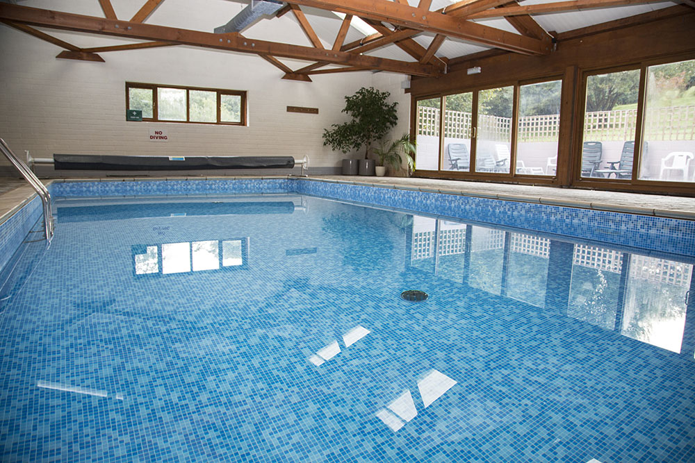 Woodhouse Farm indoor swimming pool - open all year round