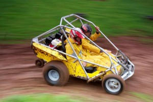 A skid-steer kart at Ashcombe Adventure Centre