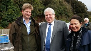 Ashcombe Director with Transport Secretary Patrick McLoughlin and Teignbridge MP Anne-Marie Morris