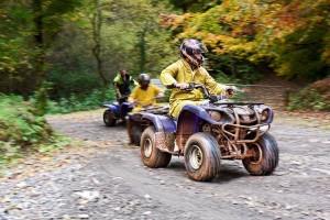 Quad bike safari at the Ashcombe Adventure Centre