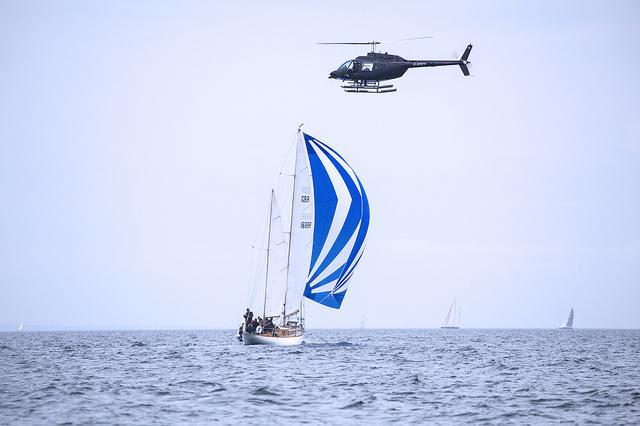 Yacht Racing off the Devon Coast