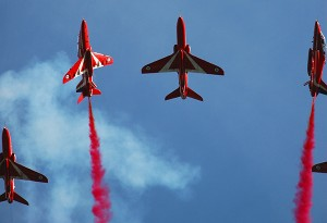 The Red Arrows at Dartmouth Regatta