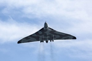 Avro Vulcan Bomber at Dawlish Air Show