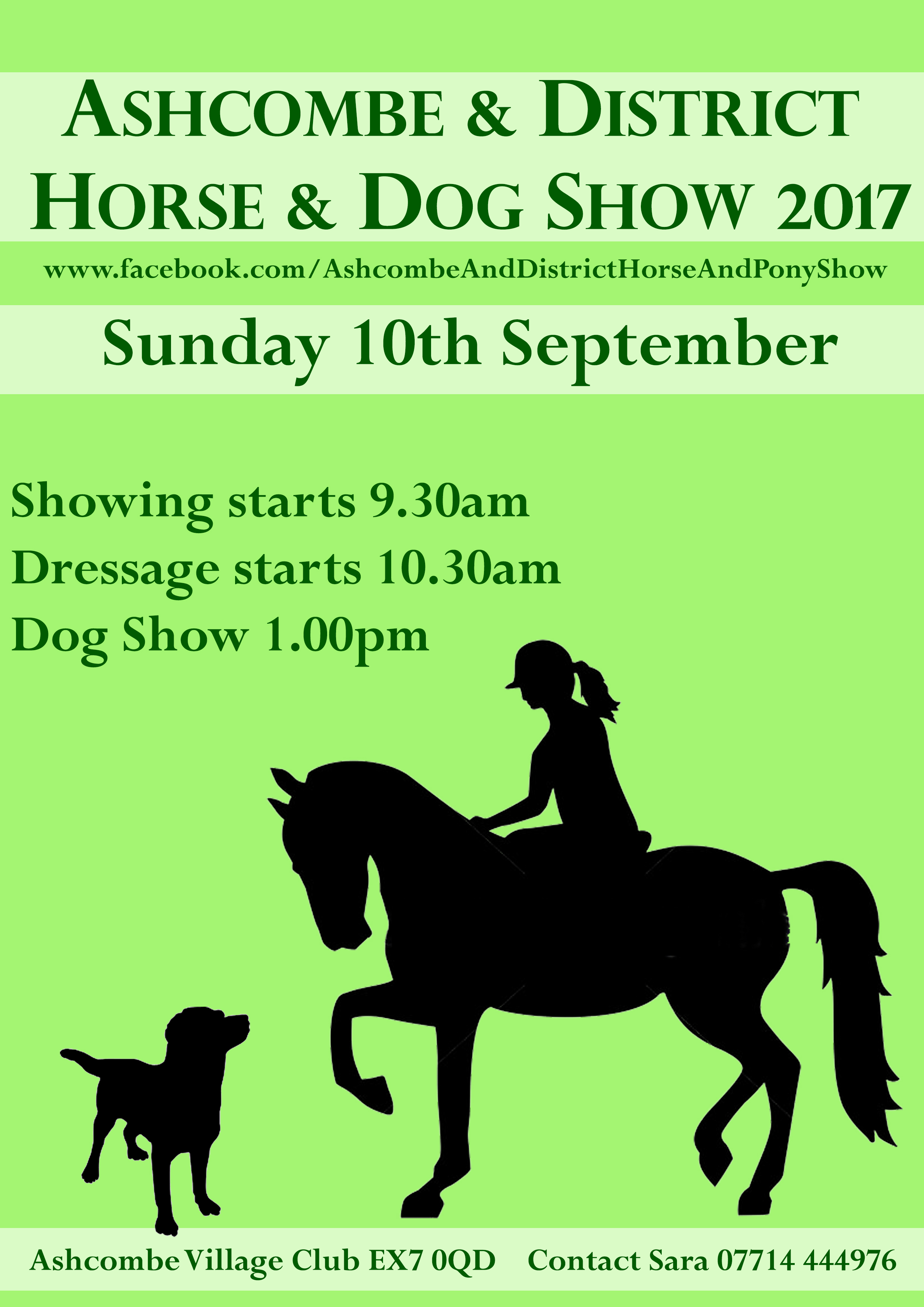 Horse and dog show