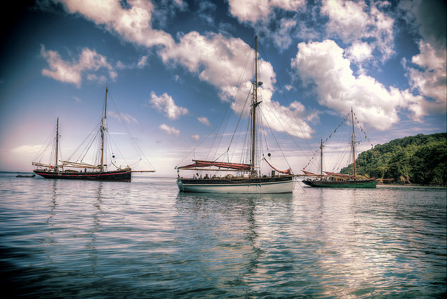 Trinity Sailing Trawlers at The Seapicnic Event