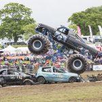 Monster Trucks at Devon County Show 2018