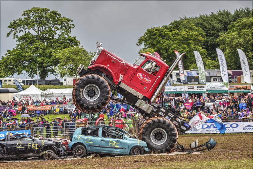 Big Pete is at the Devon County Show 2018