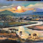The Westcountry Art Fair - Art Ashcombe. Sophie Walbeoffe - Artist