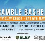 The Bramble Bashers Charity Clay Shoot 5th May