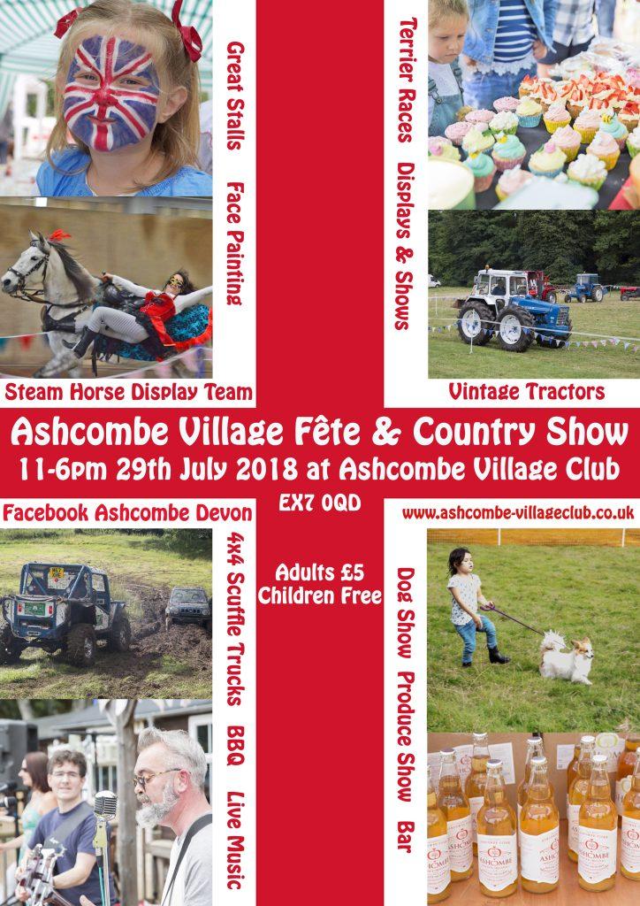 The Ashcombe Village Fête 2018