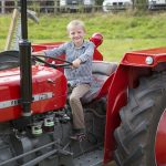 Tractor fun at Ashcombe Village Fete and Country Show