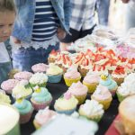 Cake Stall at Ashcombe Village Fete and Country Show