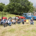 Vintage Tractors at Ashcombe Village Fete and Country Show