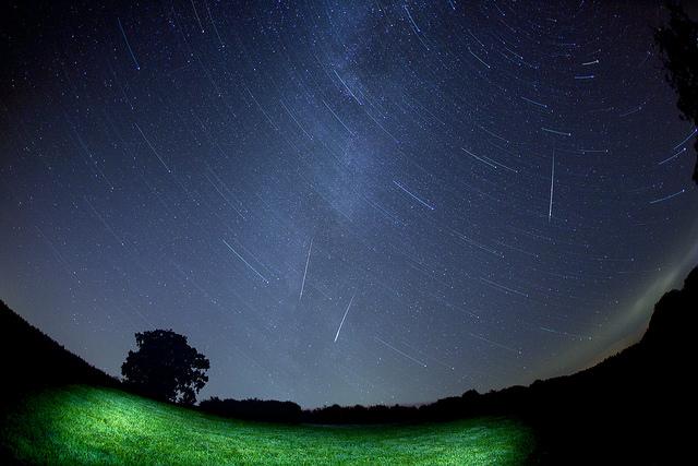 Perseid Meteor show in Ashcombe