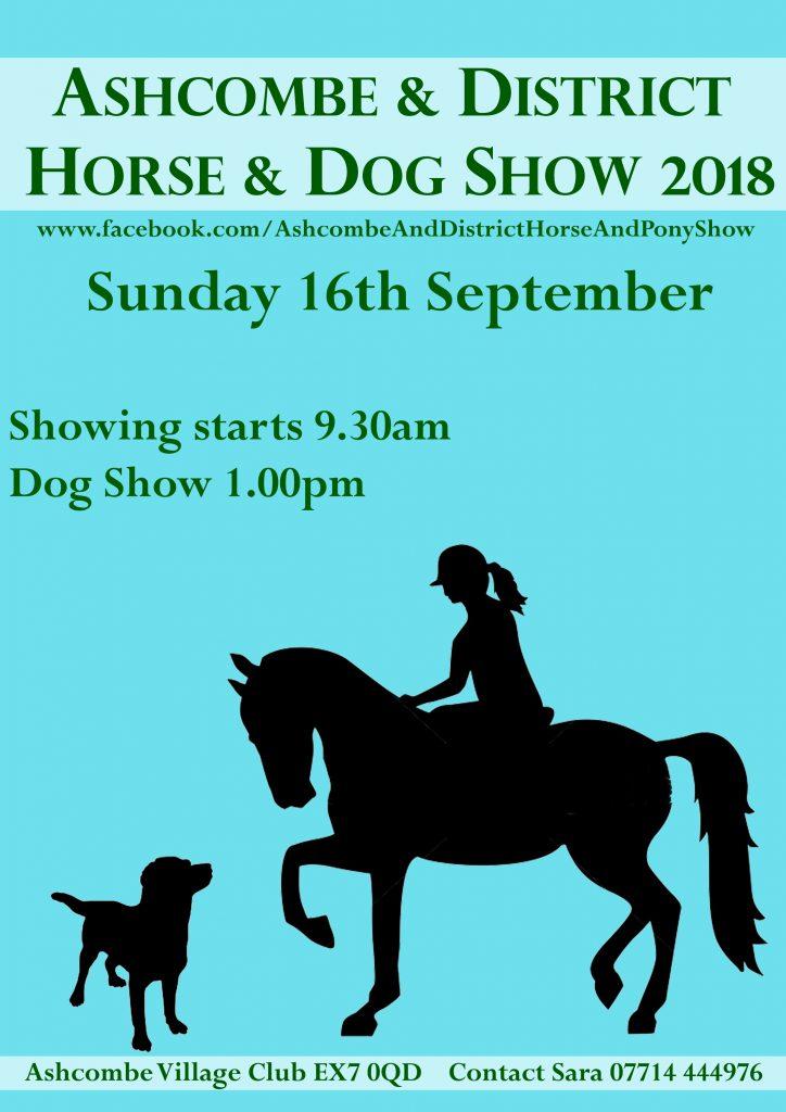 Ashcombe Horse & Dog Show 2018